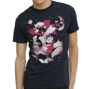 Hot Topic Cartoon Network Steven Universe Gems Tee